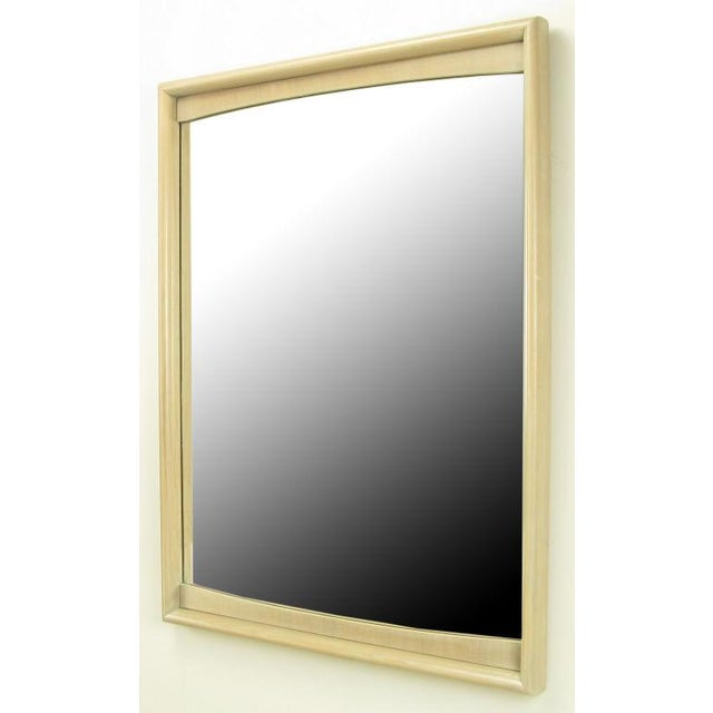 Image of Bleached & Glazed Walnut Framed Tall Mirror