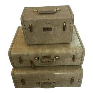 Vintage Samsonite Suitcases- Set of 3