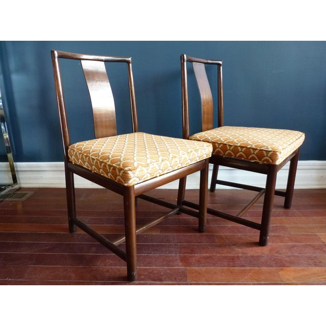 Asian Inspired Dining Chairs - A Pair - Image 3 of 11