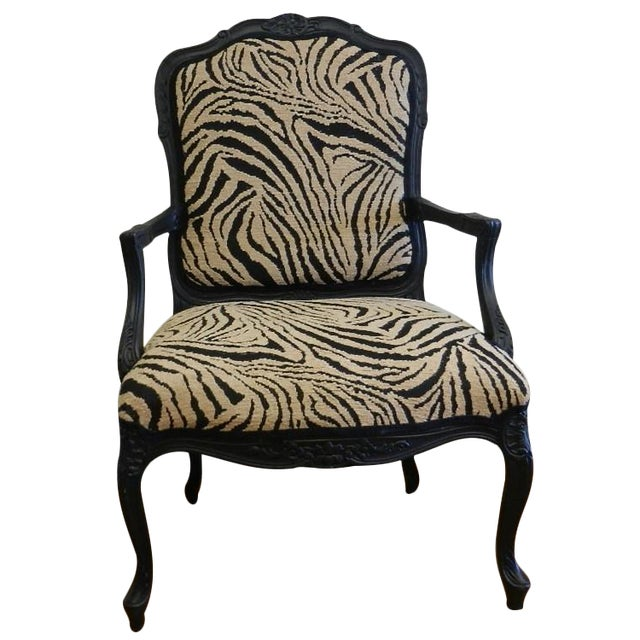 Louis XIV French Provincial Occasional Chair - Image 1 of 7