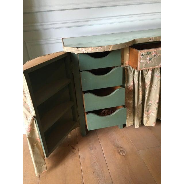 Pale Green Vintage Vanity - Image 9 of 10