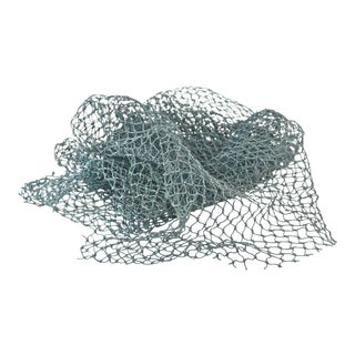 Aqua Teal Marine Fishing Net