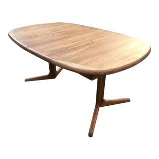 Benny Linden Danish Modern Teak Dining Table