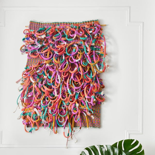 """""""Forever II"""" Hand Woven Wall Hanging - Image 5 of 5"""