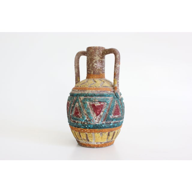 Geometric Incised Italian Art Pottery - Set of 3 - Image 4 of 7
