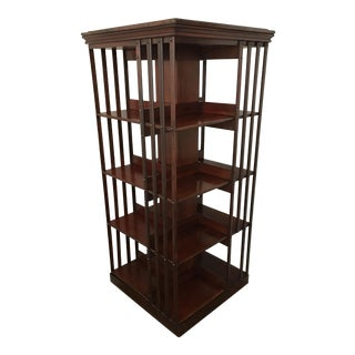 Danner Wooden Rotating Bookcase