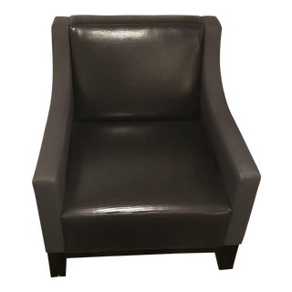 Sloped Arm Club Chair