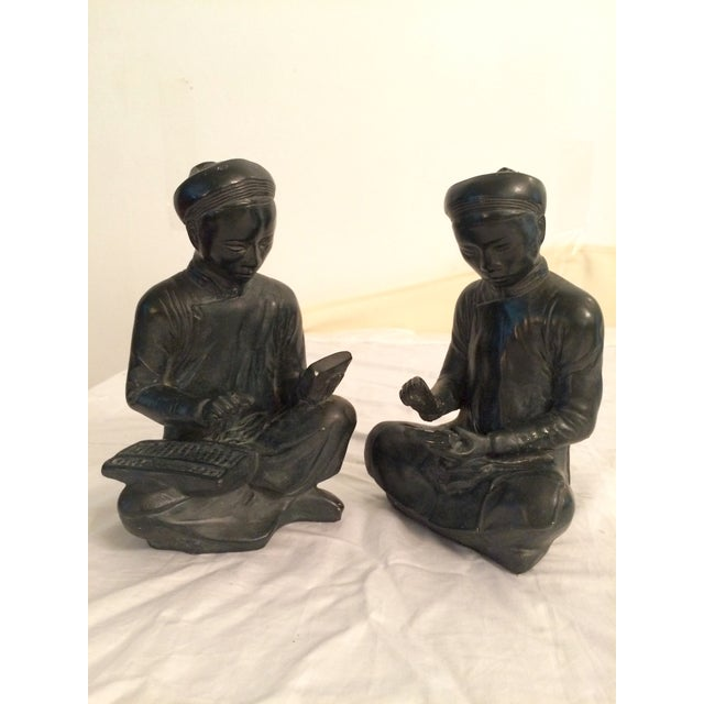 Asian Style Bookends - A Pair - Image 2 of 8