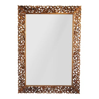 Teak Carved Mirror Frame