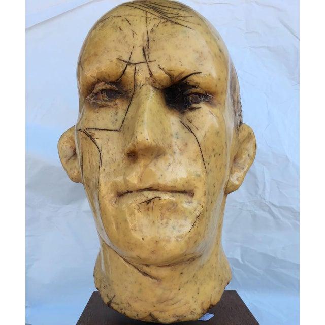 Frank Gallo Art Sculpture Epoxy Resin & Fiberglass Man