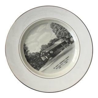 1966 Preston Hopkinson Porcelain Plate