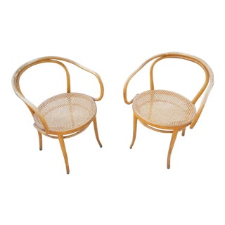 Thonet No.B9 Bentwood Armchairs - A Pair