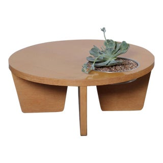 Coffee Table with Planter Attributed to Harvey Probber