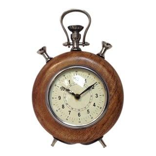 Vintage Style Wooden Round Clock