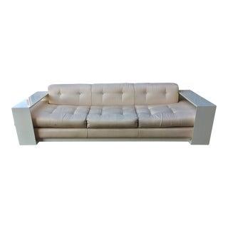 Vintage Stretch Designer Miami Modern Sofa