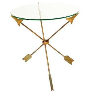 """Arrows"" Side Table Attributed to Arturo Pani"