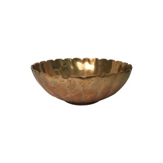 Mid Century Brass Catchall Dish