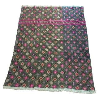 Pink & Purple Hmong Style Fabric