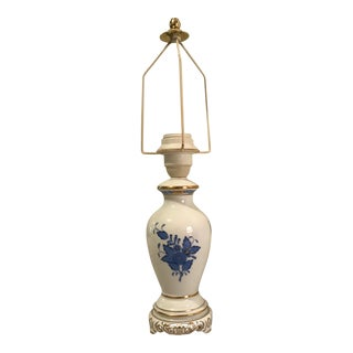Herend Hungary Hand Painted Lamp