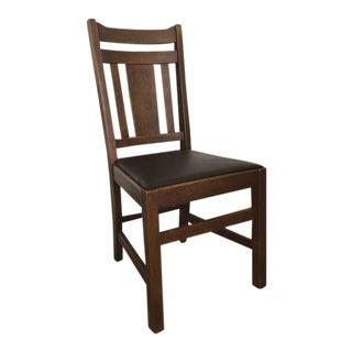 Antique Mission Oak Chair