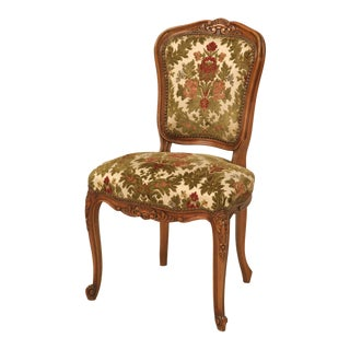 French Louis XV Cherry Dining Chairs c1940's