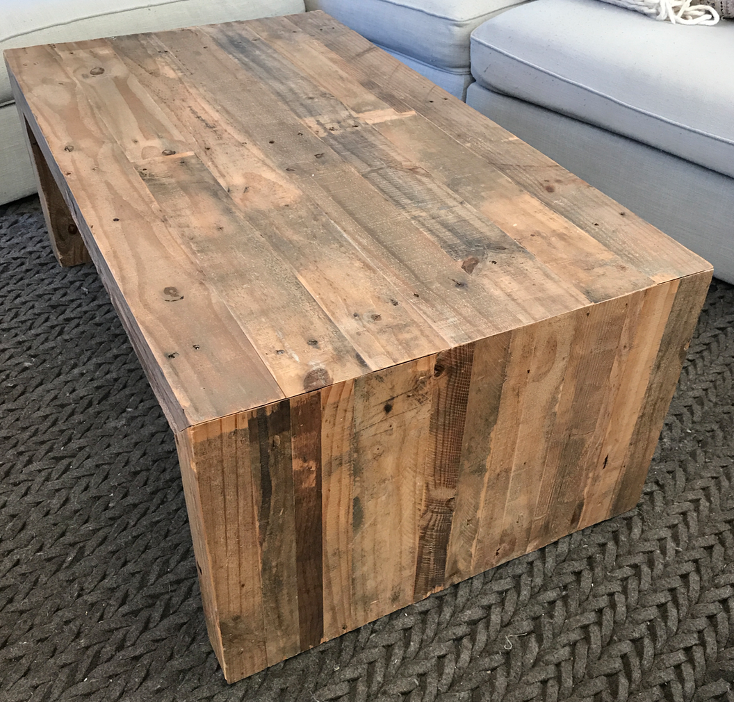 West Elm Reclaimed Wood Emmerson Coffee Table   Image 4 Of 6