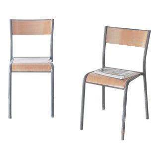 Mullca 510 Schoolhouse Chairs - A Pair