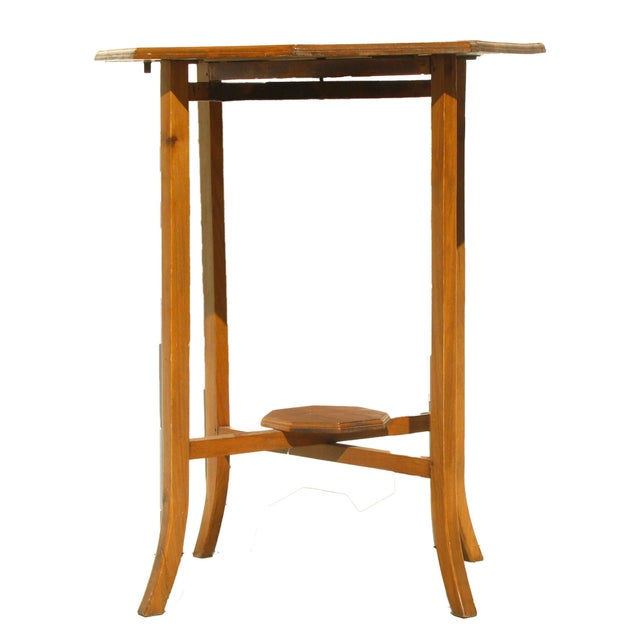 English Narrow Drop Leaf Table - Image 4 of 4
