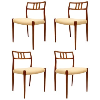 Set of 4 Niels Moller Dining Chairs