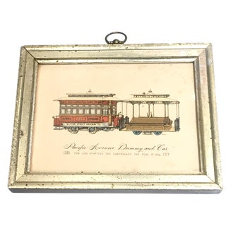 Petite Pacific Avenue Railway Borghese Print