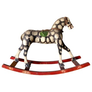 Antique Hungarian Rocking Horse