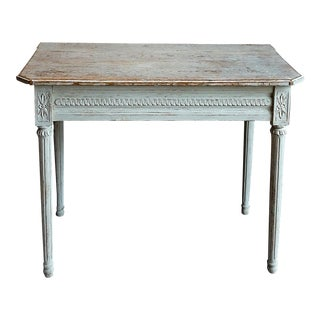 Period Gustavian Table in Original Paint (#42-82)