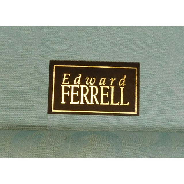 Edward ferrell lewis mittman blue upholstered cromwell for Edward ferrell lewis mittman