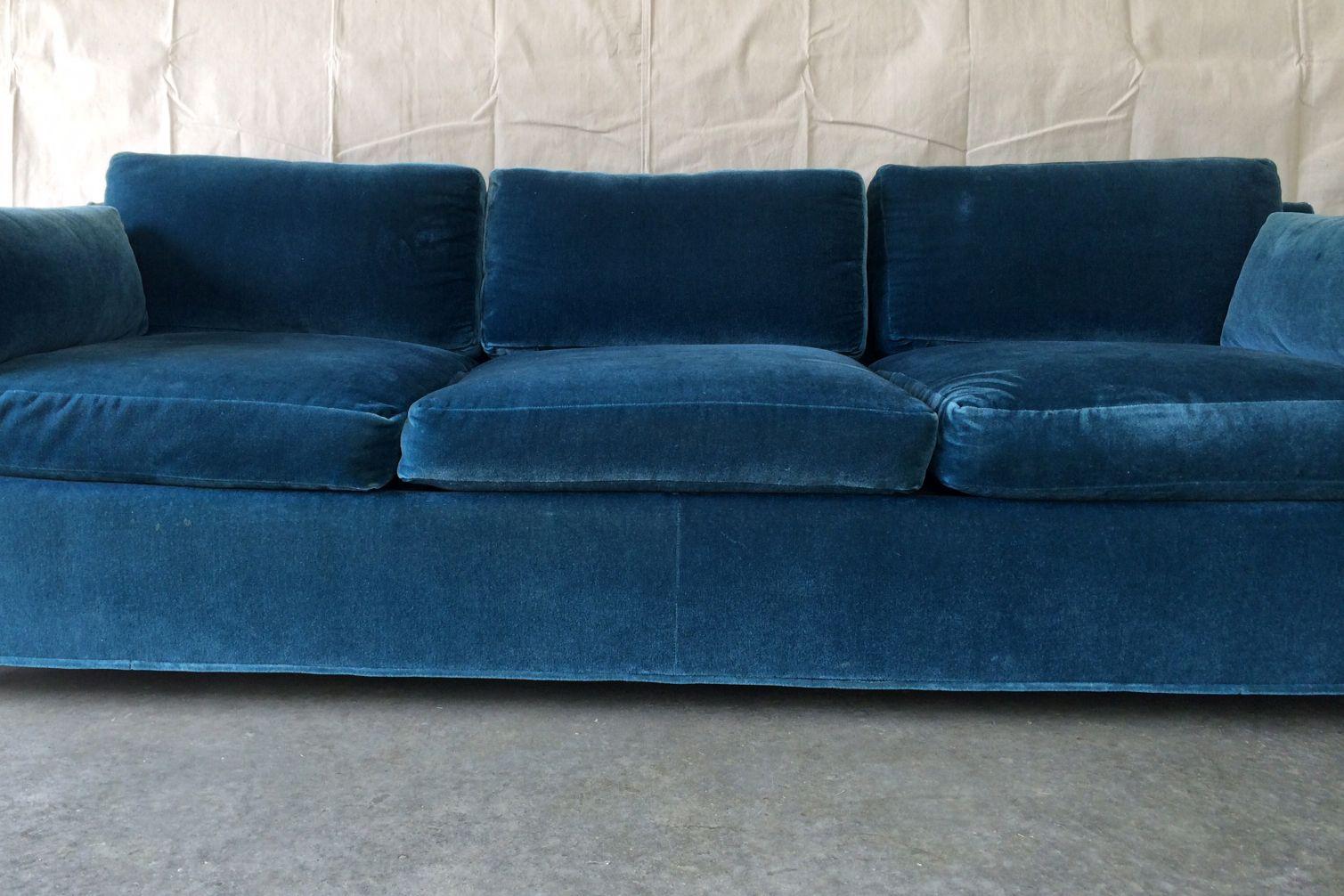 Mid Century Prussian Blue Velvet Sofa Chairish : 777d3475 ac22 4c02 b51d bbf71d43f26easpectfitampwidth640ampheight640 from www.chairish.com size 640 x 640 jpeg 39kB