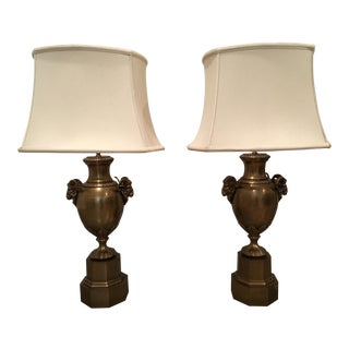 """Chapman """"Urn"""" Style Table Lamps - A Pair"""