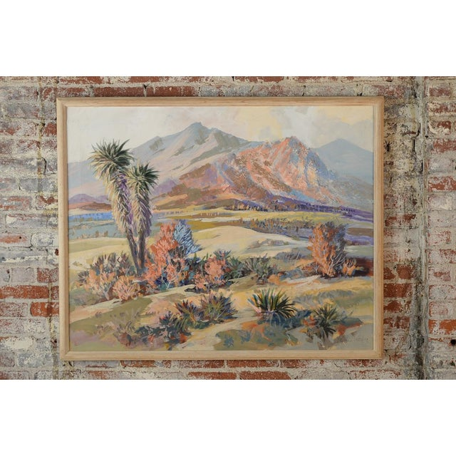 Indio Hills & Valley Desert Landscape Painting - Image 2 of 10