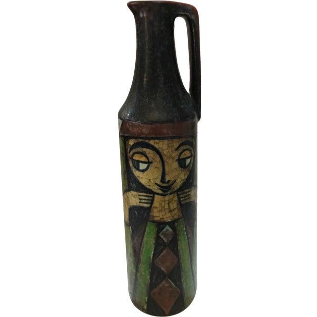 Michael Andersen Danish Crackled Finish Vase - Image 1 of 11