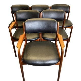 Benny Linden Mid-Century Dining Chairs - Set of 6