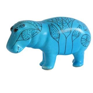 Mma Turquoise Hippopotamus