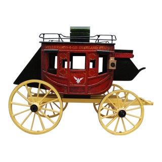 Exquisite Wells Fargo Stagecoach Model