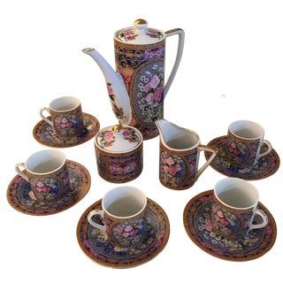 Vintage Demitasse Tea Set - Set for 6