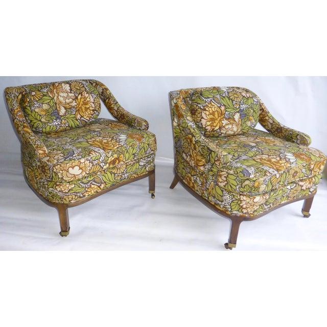 Mid Century Modern Club Chair - Pair - Image 2 of 10