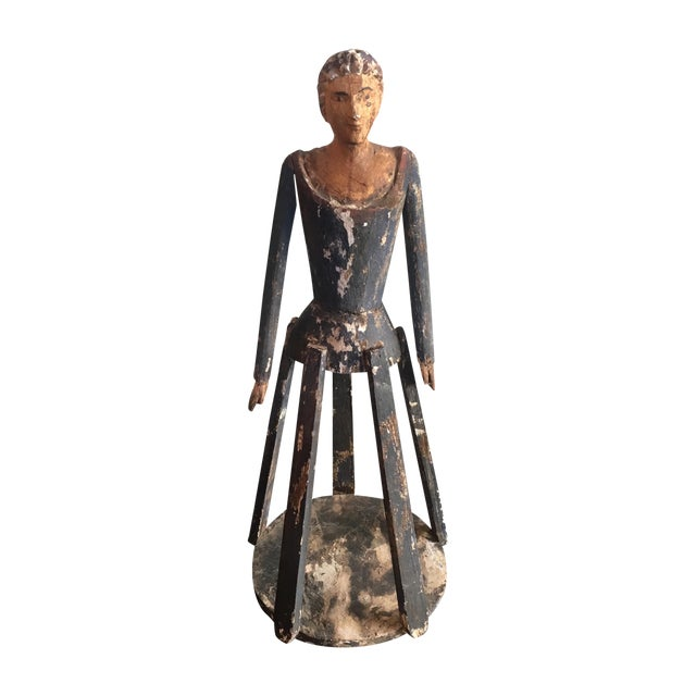 Santos Southwest Folk Art Figure - Image 1 of 5