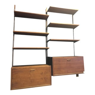 Danish Modern Teak Wall Shelving