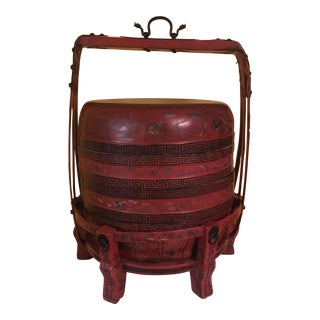 Red Chinese Wedding Box