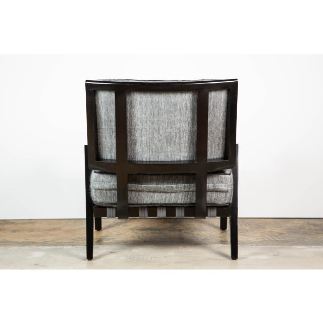 Paul Marra Low Lounge Chair in Black Lacquer - Image 5 of 9