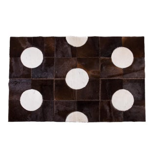 """Aydin Cowhide Patchwork Accent Area Rug - 5'2"""" x 7'8"""""""