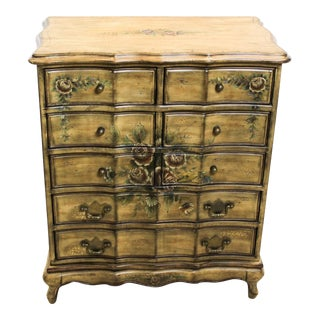 Floral Lingery Chest Of Drawers