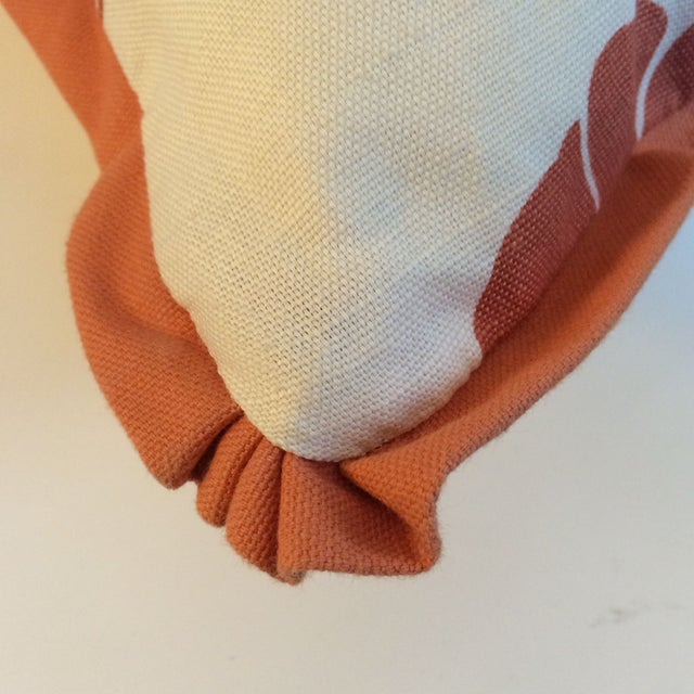 Orange Koi Pillows - A Pair - Image 2 of 4