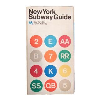 1972 Massimo Vignelli New York Subway Map